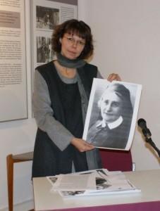Vortrag über Sophie Sondhelm in der Seminar- und Gedenkstätte Bertha Pappenheim in Neu-Isenburg (2010)