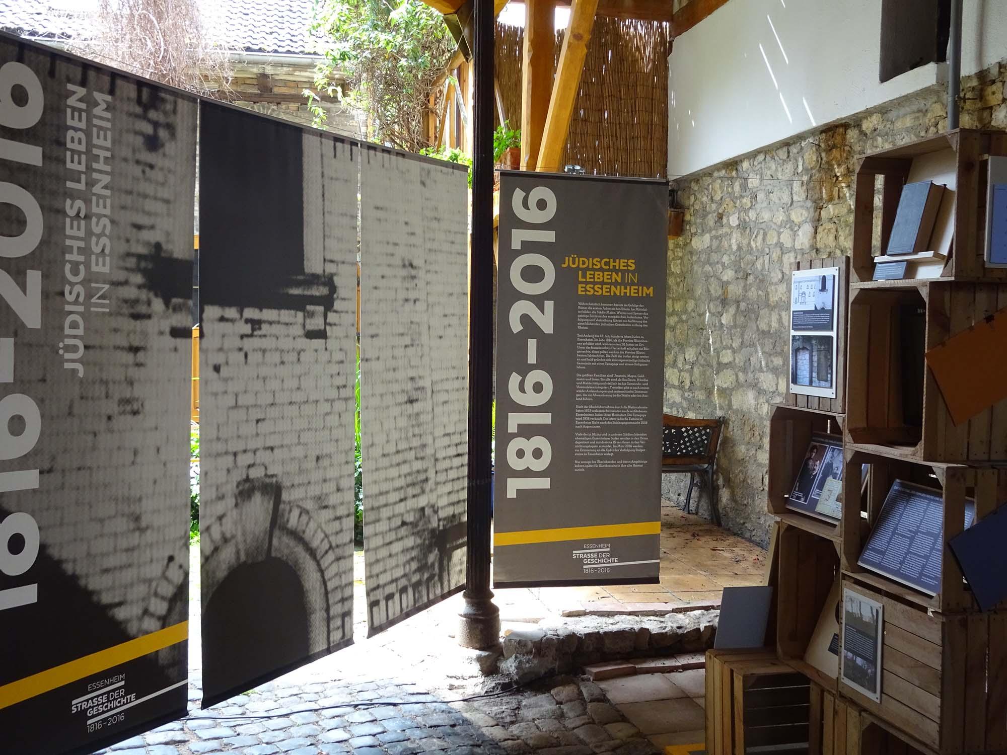 Die Ausstellung umfasst den Zeitraum von 1816 bis 2016
